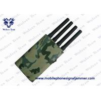 Camouflage Cover GPS Jammer 36W Power Consumption Cell Phone Blocking Device