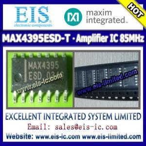 Quality MAX4395ESD-T - MAXIM - IC OP AMP 85MHZ - sales009@eis-ic.com / sales009@eis-limited.com wholesale