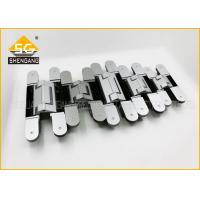 China Swing Door Cabinets Concealed Invisible 180 Degree Hinges Furniture Hardware on sale