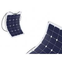 Quality Durable Semi Flexible Marine Solar Panels Commercial For Camping / Portable Bag wholesale