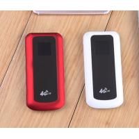 Cheap Red 3G 4G Pocket Hotspot LTE 4G SIM CARD Router with 1.44 inch LCD for sale