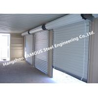 Cheap Residential Overhead Roll Up Industrial Steel Garage Doors With Fire Resistant for sale