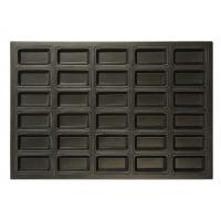 Quality Non - Stick Rectangular Bread Baking Pan Silicone 30 Indents For Cake Baking wholesale