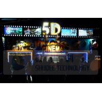 Quality Electric 5D Movie Theater Motion Chairs System With Special Environment Effect wholesale