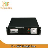 Buy cheap 6 × 6KW Straight Box 6CH stage power distribution box/stage equipment Stage from wholesalers