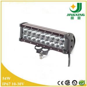 Quality 54w IP68 high lumens led offroad light bar wholesale