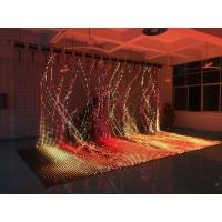 China Waterproof Soft Flexible LED Video Panels Ultra Thin Large Size Curtain For Video on sale