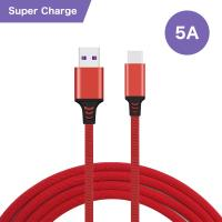 Quality Super - Fast Charging USB Data Cable Type - C Connector 5A For Huawei wholesale