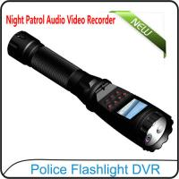 Quality 1080P Police Flashlight DVR On-site Enforcement Audio Recorder Night Patrol Video Camera wholesale