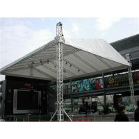 China Heavy Laser Lighting Aluminum Stage Roof Truss Outdoor Exhibition Show 200mm - 1000mm on sale
