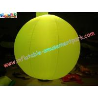 Quality 2 Meter Colorful Pvc Inflatable Wedding Tent Lights Ball For Stage Exhibition wholesale