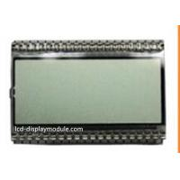 Operting 4.5V Monochrome LCD Screen Reflective Positive 55.00mm * 15.50mm Viewing