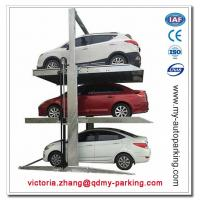 China Two Post Triple Parking Lift for 3 Cars Hydraulic Garage Storage Lift on sale