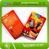 China 13.56MHz Access Control RFID Business Card on sale