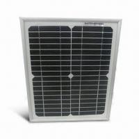 China 10W Portable Solar Panel Module with TUV, IEC, CE and ISO Marks on sale