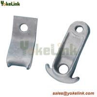 China Made in Chain Ductile Iron Steel Guy Hook For Transmission Line Hardware on sale