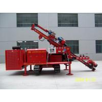 Quality Three Head Clamping Crawler Anchor Drilling Rig Drill Rig Machine Simple Operation wholesale