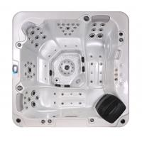 Quality Corner Location Hydrotherapy Hot Tub Spa 5 Person Capacity Ponfit With Bluetooth Speakers wholesale