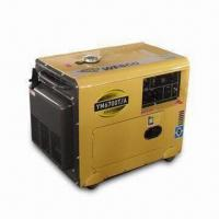 China 5kVA Diesel Generator with Digital Voltage Meter and Overload Circuit Breaker on sale