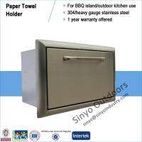Quality BBQ ISLAND 304 STAINLESS STEEL PAPER TOWEL DISPENSER wholesale