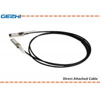 Quality 10G SFP+ to SFP+ DAC Cables Direct Attach Passive Copper Cable For Storage Area Networks wholesale