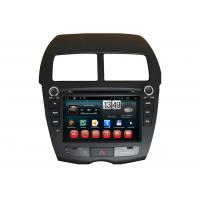 Quality 2-din Car DVD ASX MITSUBISHI Navigator , Android 1080P Navigation System with Rear view Camera wholesale