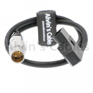 2B lemo 2 pin Cable Power from a Cinema Pro JR pan tilt head to LONTONO fiber