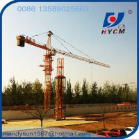 Quality Algerie Popular 4t Small Tower Crane wholesale