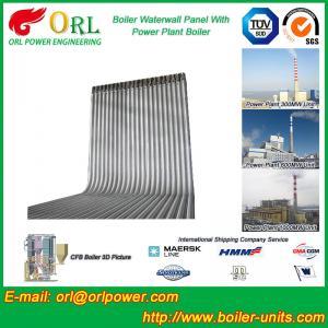 Quality Steel Water Heat Boiler Water Wall , Waterwalls High Temp TUV Certification wholesale