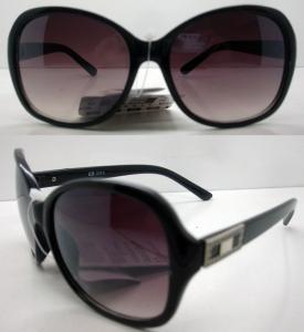 Quality Fashion Purple Polarized Plastic Frame Sunglasses For Women wholesale