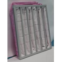Buy cheap F7 air filter for ahu pocket filter polyester filter bags for bag filter systems from wholesalers