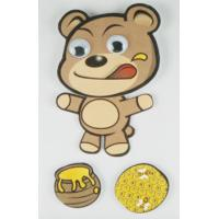 Paper + PET Layered Stickers For boys / little bear Movement Sticker