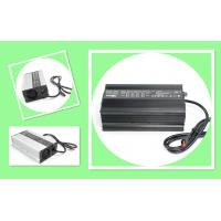 China Black Electric Motorcycle Battery Charger / Intelligent Li ion Battery Charger 60V 8A  600W on sale