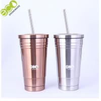 China Customized Popular Colorful Insulated 304 Stainless Steel Coffee Tumbler on sale