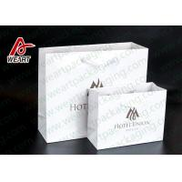 Buy cheap Two Sizes Branded Custom Printed Paper Bags Promotional Use OEM / ODM product