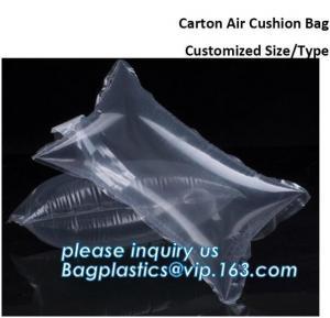 China cushion pillow/air cushioning bags, inflatable beach pillow bag, toner cartridge air column bag, inflatable air bag for on sale