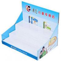 China 200G Craft Paper POP / PDQ Display Counter For Ball Pens , UV Coating on sale