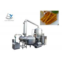 China Low Fat Healthy Continuous Vacuum Fryer Deoiling Revolution 300r/Min on sale