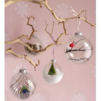Quality Christmas Tree Decoration Glass Hanging Ornament Glass Fish wholesale