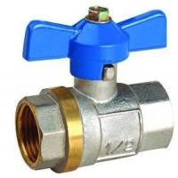 China Ball Valve with Butterfly Handle and CE Certificate on sale