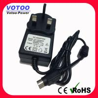 Quality Universal 12v 3a Switching Power Adapter 50 / 60Hz With 3pin DC Plug For LED Monitor wholesale