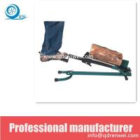 Quality manpower Foot Operate Log Splitter US Patented wholesale