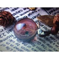 Quality Color Glass Star Pendant Decorative Glass Craft Small Round Ball With Rope wholesale