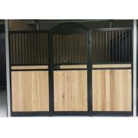Quality Mini Single Horse Stall Fronts Miniature Green Painting Lifetime Warranty wholesale