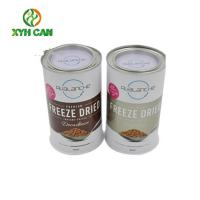 China Food Grade Standard Metal Tin Cans For Milk Bean Powder Packaging with RLT Lid on sale