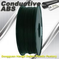 Quality Good elasticity universal ABS Conductive 3d Printer Filament in Black wholesale