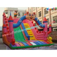 Quality Outdoor Durable Cute Inflatable Commercial Inflatable Slide, jumping slide for rental wholesale