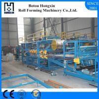 Quality Lightweight Concrete Sandwich Panel Production Line 4m / Min Work Capacity wholesale