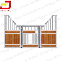 China Equestrian Hdpe Board Portable Mobile Temporary Horse Stables Stall Panel on sale