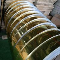 Quality Gold Mill Finished Mirror Polished Aluminum Sheet For Electric Appliance Panel wholesale